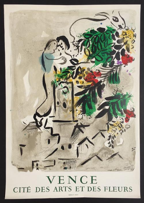 Marc Chagall Vence - Cite des Arts et Fleurs