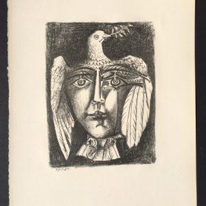Pablo Picasso Visage de la Paix