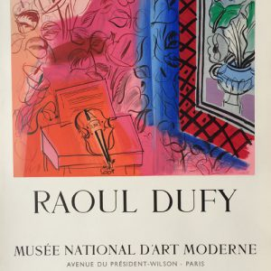 Raoul Dufy Musee National Art Moderne