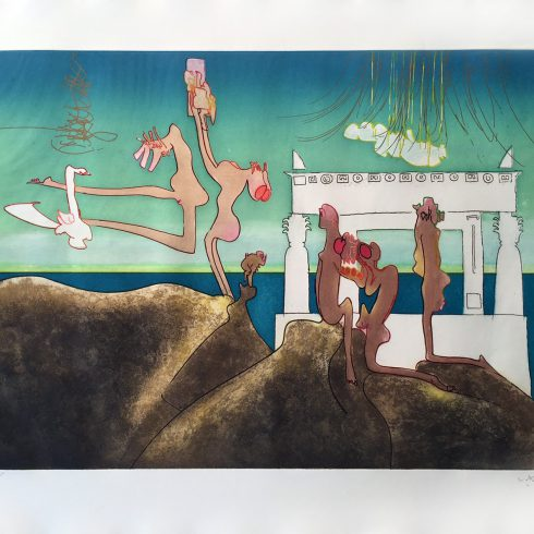 10AM - L''Arc Obscur Des Heurs by Roberto Matta
