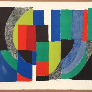 Sonia Delaunay Patchwork Composition