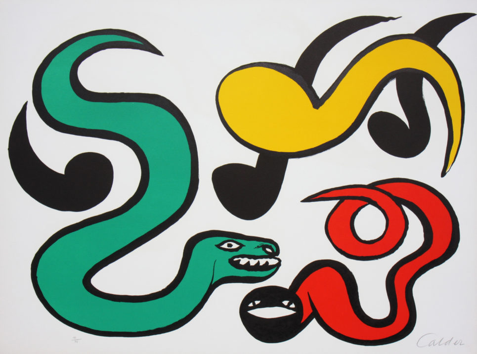 Alexander Calder Couleurs au Choix