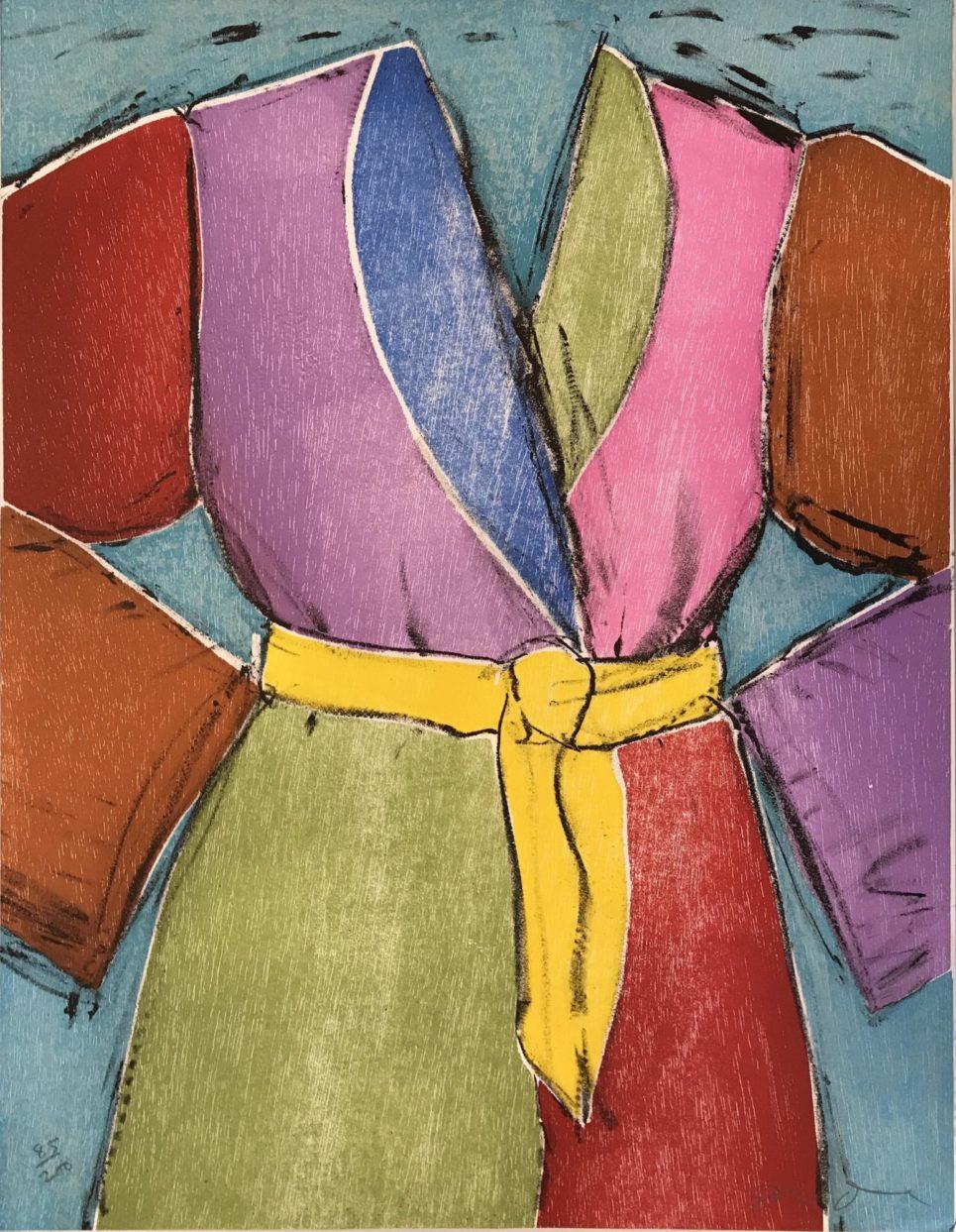 yellow belt by jim dine