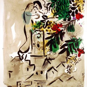 Marc Chagall Lithograph Poster Vence