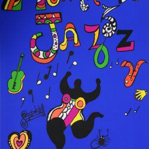 Niki de Saint Phalle 1984 Montreux Jazz Festival