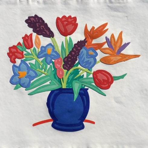 flowers by tom wesselmann