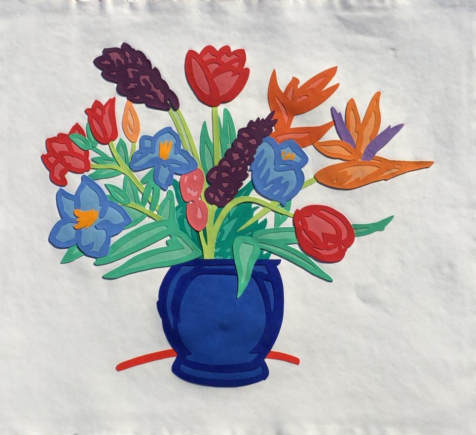 flowers by tom wesselmann