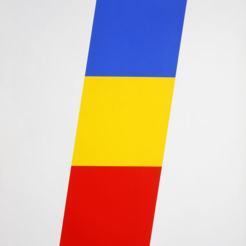 blue yellow red by ellsworth kelly