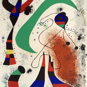 Joan Miro La Nuit Mourlot 132