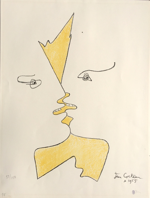 jean-cocteau-the-kiss-lithograph