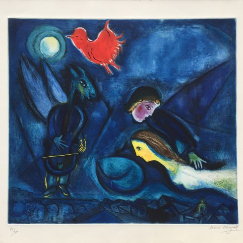 aleko by Marc Chagall