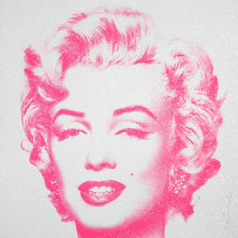 Mr. Brainwash Diamond Girl - Marilyn Monroe (Pink)