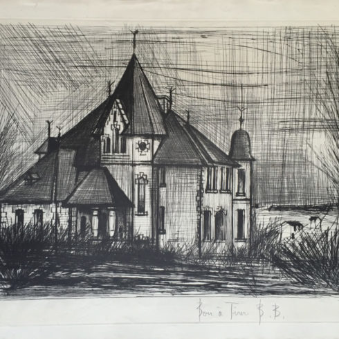 chateau de la vallee by bernard buffet