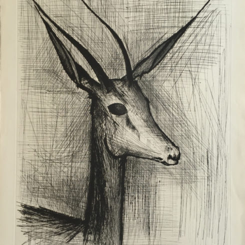 gazelle by bernard buffet