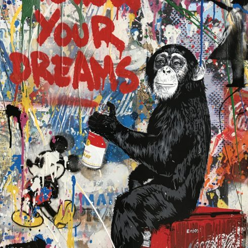 Everyday Life by Mr. Brainwash
