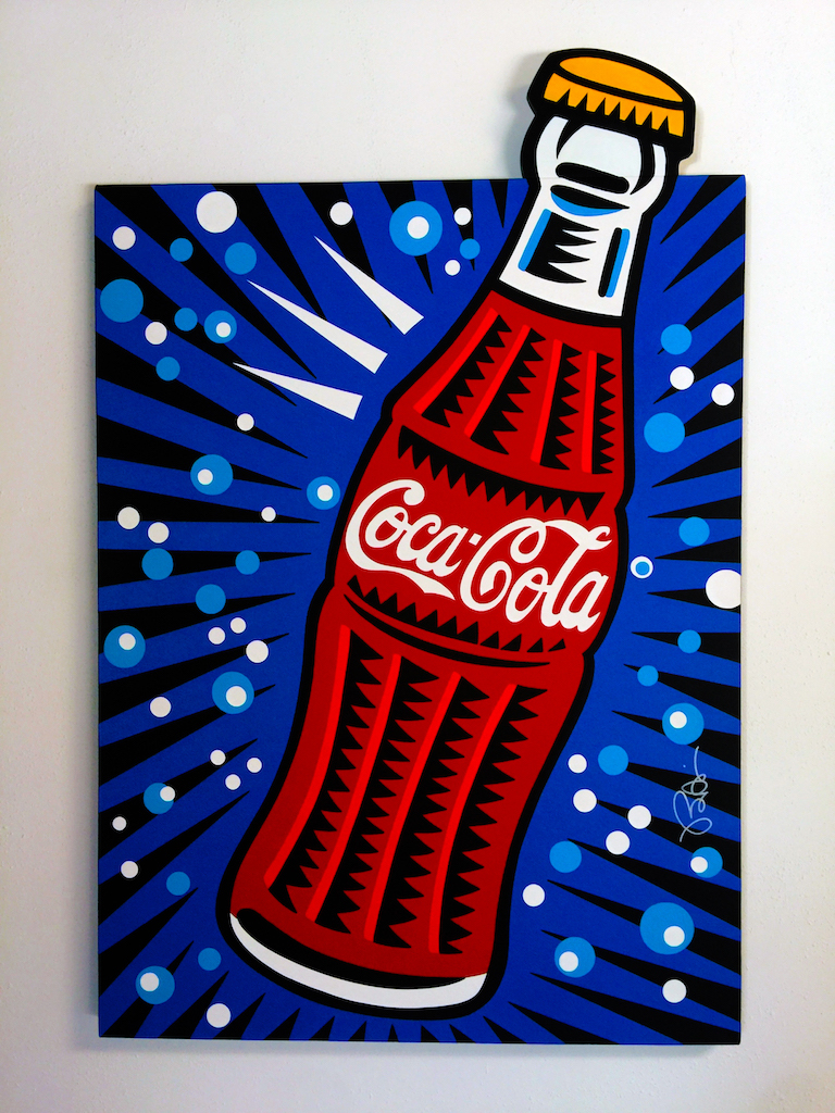 Coca Cola by Burton Morris