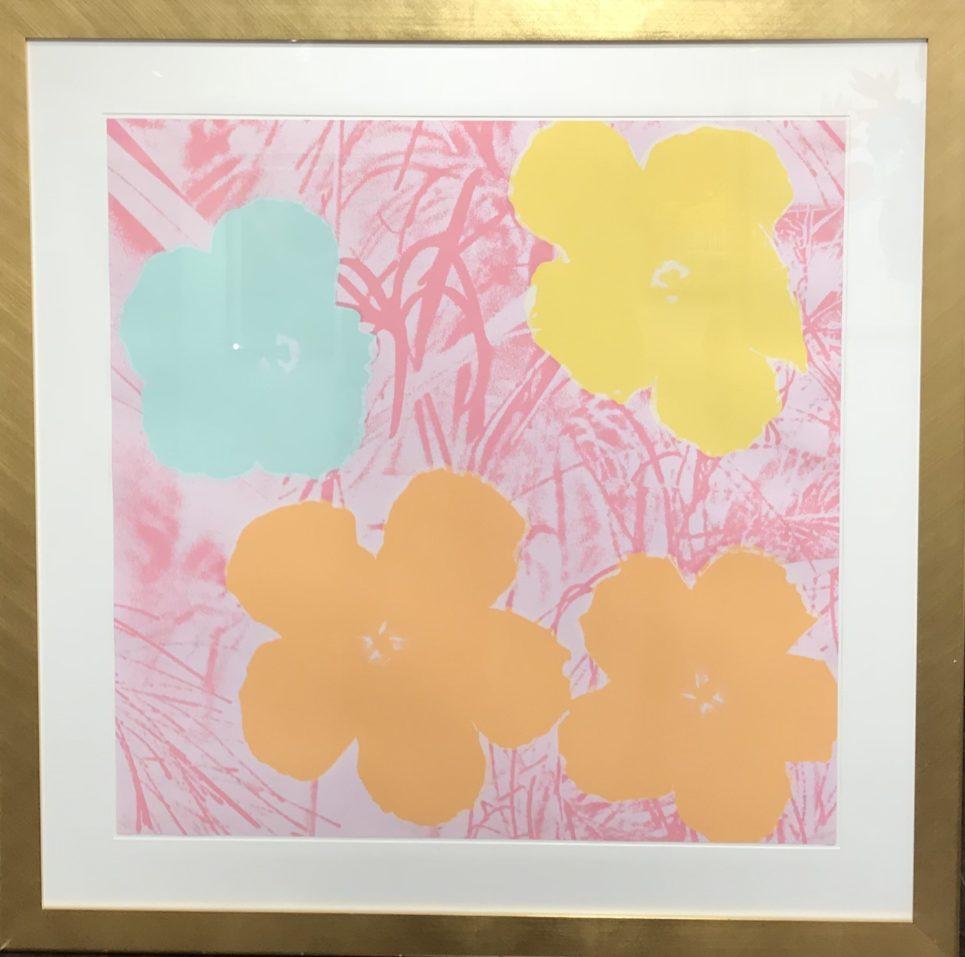 andy-warhol-flowers-1970-framed