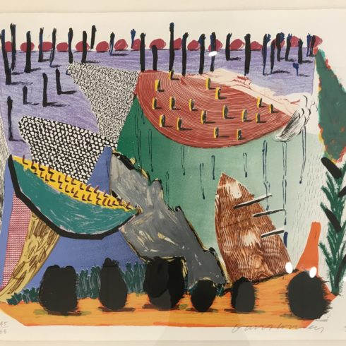 David Hockney Slow Rise