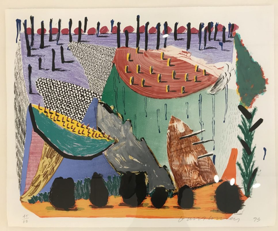 slow rise by david hockney