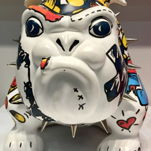 bulldog collab x anne sophie by frederic avella