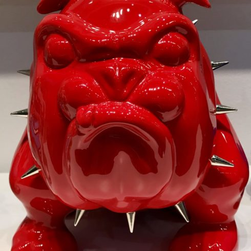 bulldog red by frederic avella