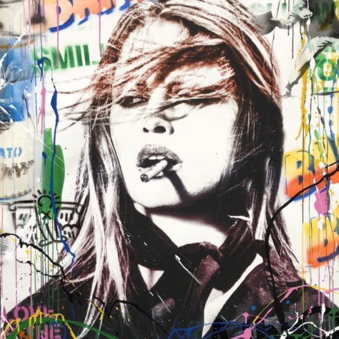Mr. Brainwash Brigitte Bardot