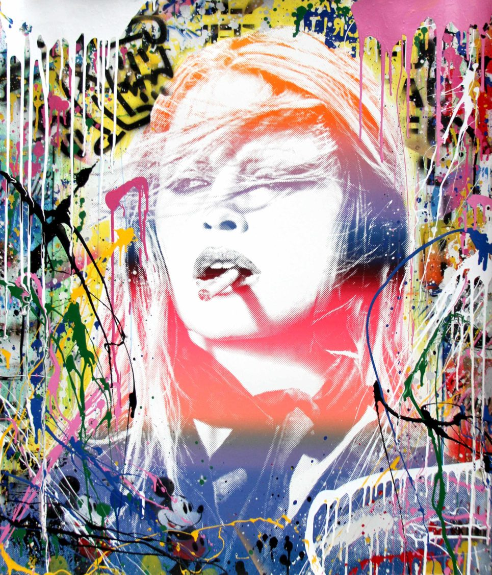 brigitte bardot by mr brainwash