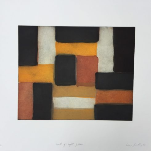 Wall of Light Yellow by Sean Scully