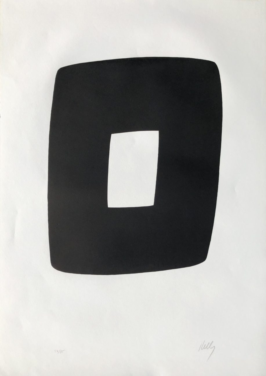 black and white a9 by ellsworth kelly