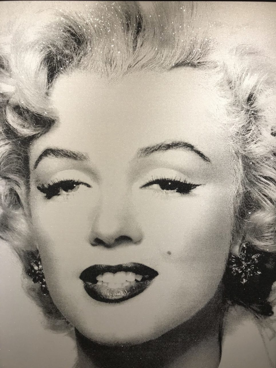 Marilyn Superstar - Crash Silver by Russell Young