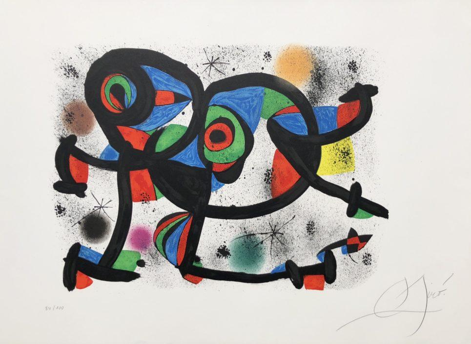 La Triple Roue I by joan miro