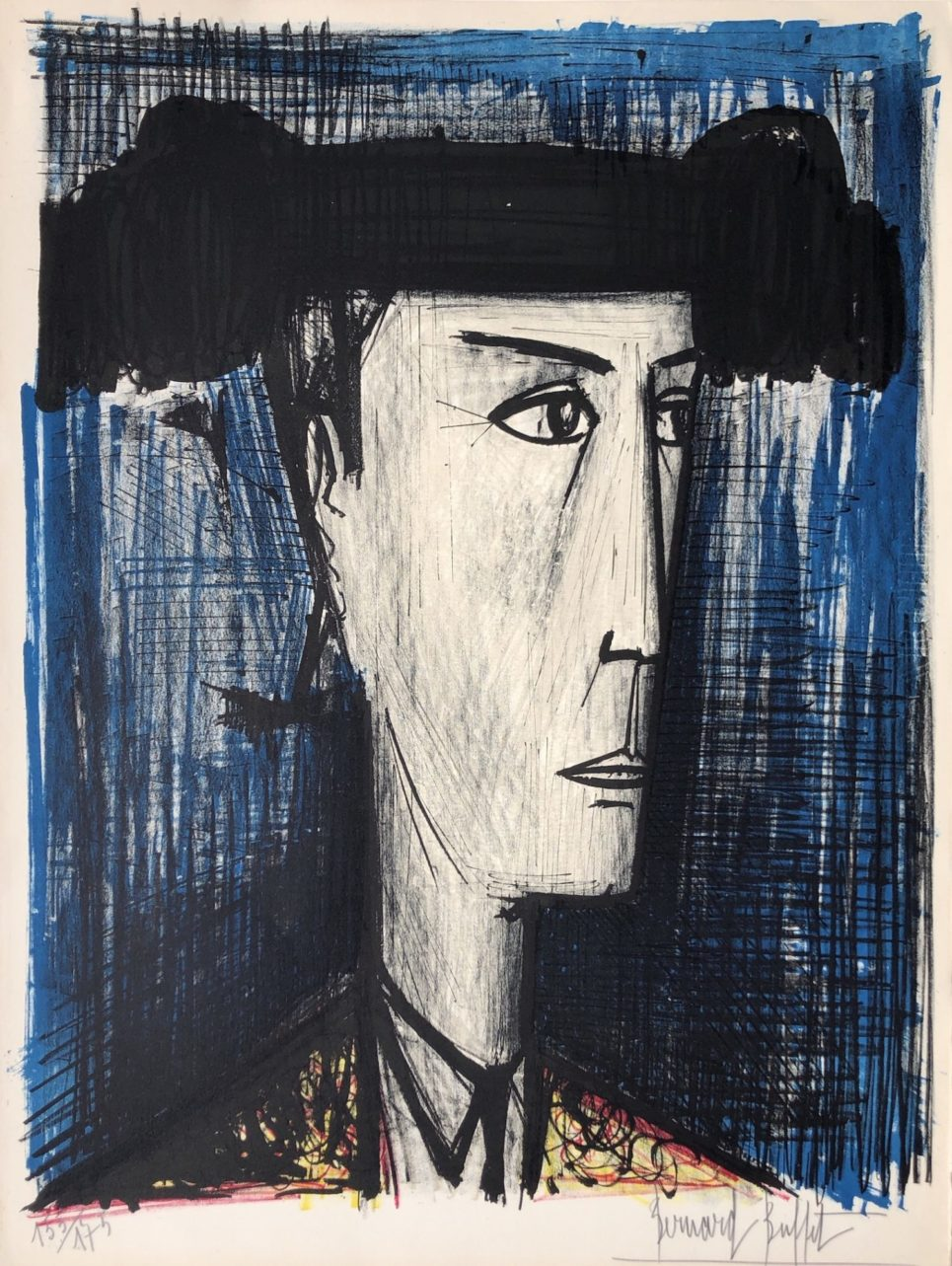 le toreador, 1960 by bernard buffet