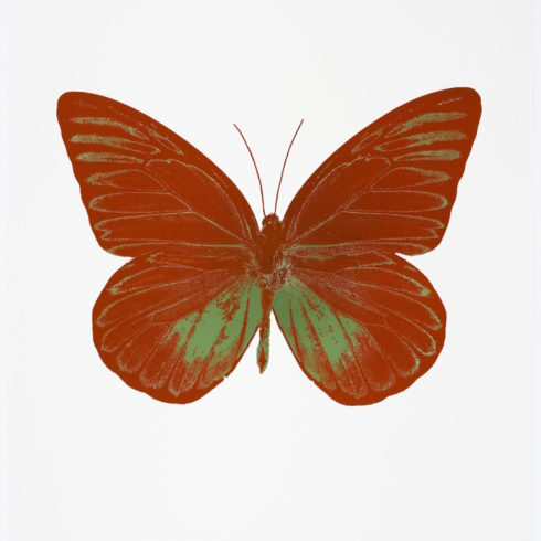 Damien Hirst The Souls I - Prairie Copper - Leaf Green