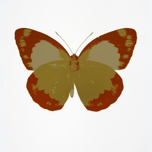 The Souls II - Oriental Gold - Prairie Copper - Cool Gold by Damien Hirst