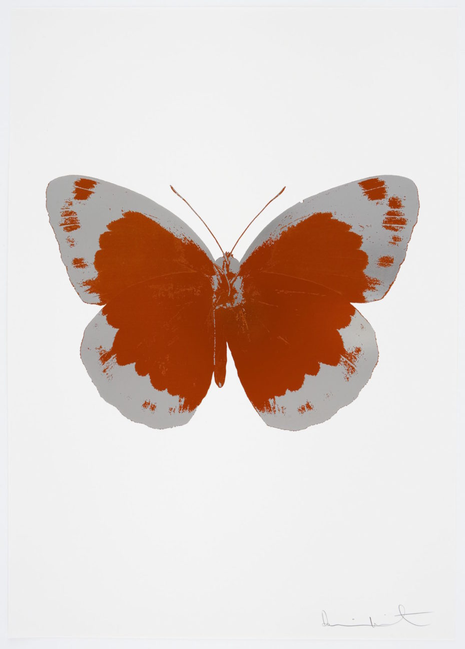 the souls ii Prairie Copper and Silver Gloss by damien hirst
