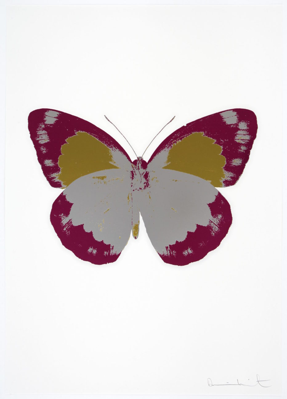 the souls ii silver gloss topaz longanberry by damien hirst