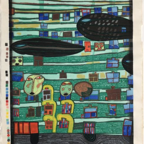 song of the whales by friedensreich hundertwasser