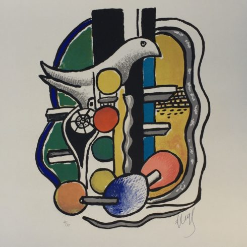 La Colombe by Fernand Leger