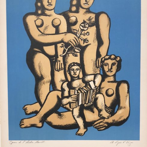 The Accordionist's Family by Fernand Leger