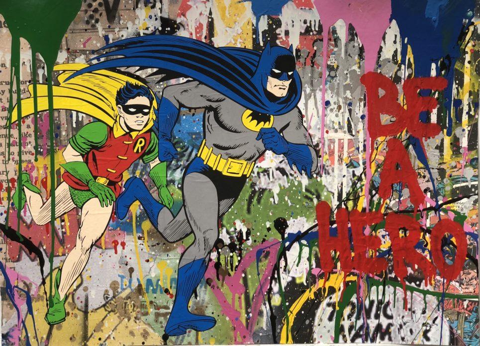 Mr. Brainwash Batman & Robin