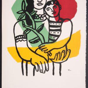 Fernand Leger Art et Solidarite Lithograph