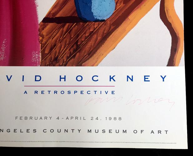David Hockney Retrospective - Los Angeles County Museum of Art