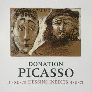 Donation Picasso - Dessins Inedits Poster