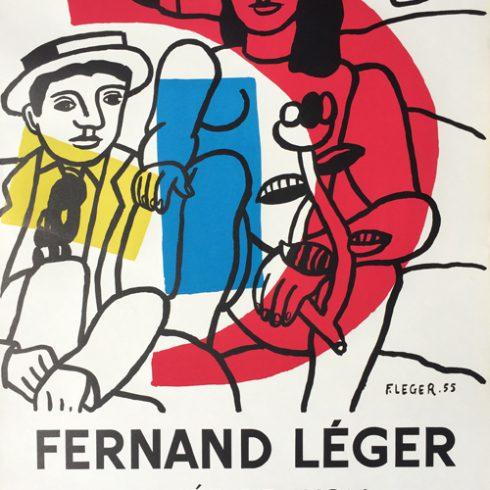 Fernand Leger Musee de Lyon Poster