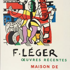 Fernand Leger - Oeuvres Recentes Poster