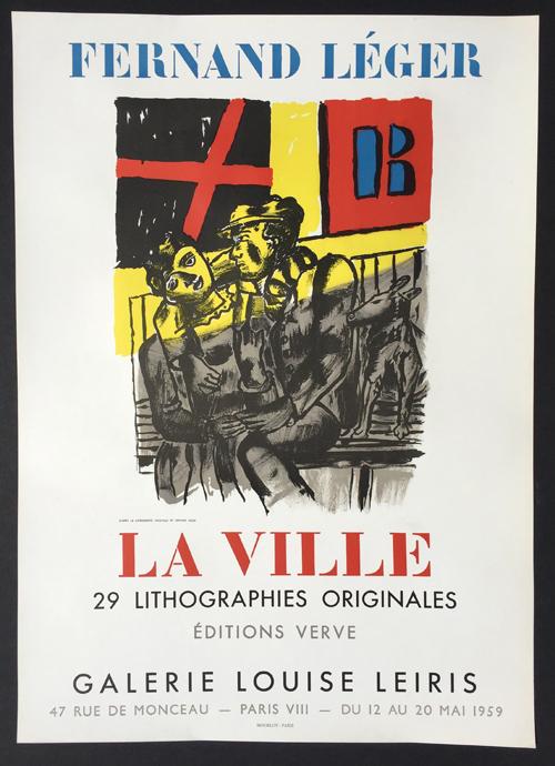 Fernand Leger Poster La Ville