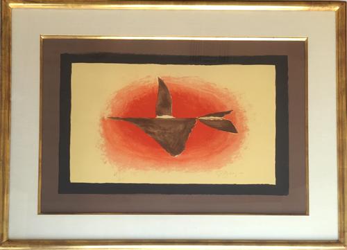 Georges Braque Au Couchant Oiseau