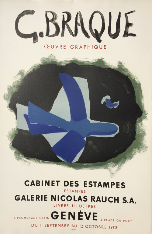Georges Braque Poster - Oeuvre Graphique