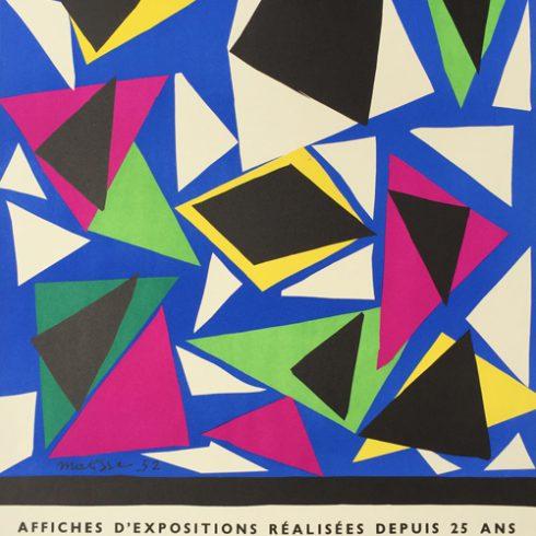 Henri Matisse Exposition Affiches - Galerie Kleber