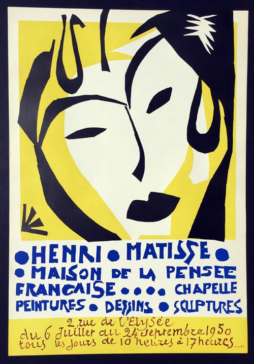 Henri Matisse Poster - Maison de la Pensee Francaise